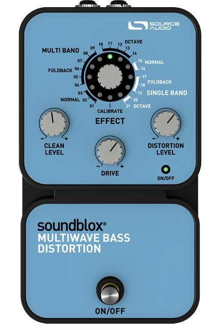 Source Audio SA125 SoundBlox Multiwave Bass Distortion SA125