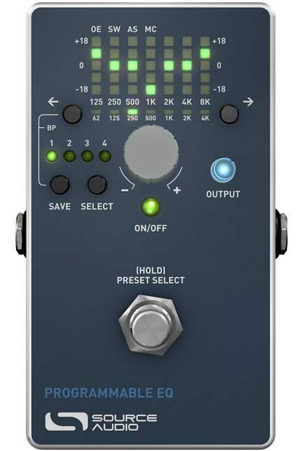Programmable EQ Pedal