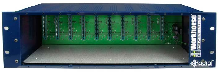 500 Series 10-Slot Rackmount Chassis