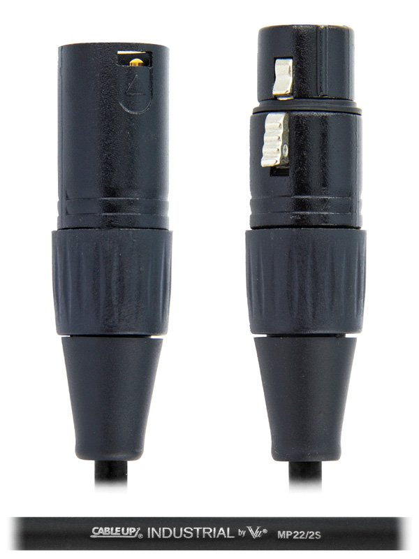 Cable Up by Vu MIC-XX-100 100 ft XLR Microphone Cable MIC-XX-100