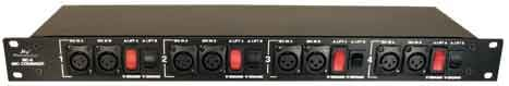 4-Channel Rackmount Microphone Level Signal Combiner