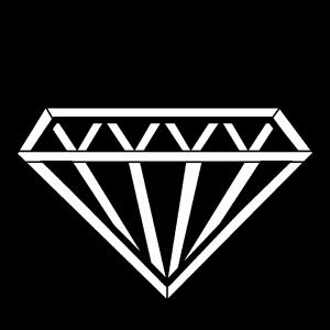 Steel Gobo, Diamond Reversed