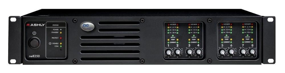 8 Channel 250W 70 Volt Power Amplifier