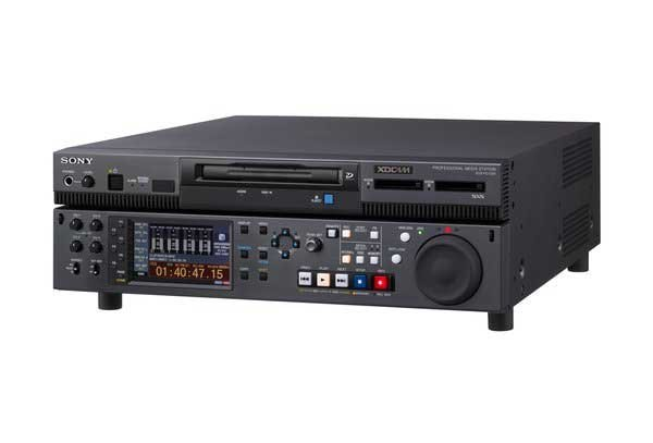 Entry Level Professional Media Station with Dual SxS Card Slots and Quad Layer Professional Disc Drive