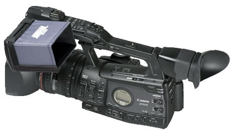 "4"" Widescreen Hood for Canon XF Series"