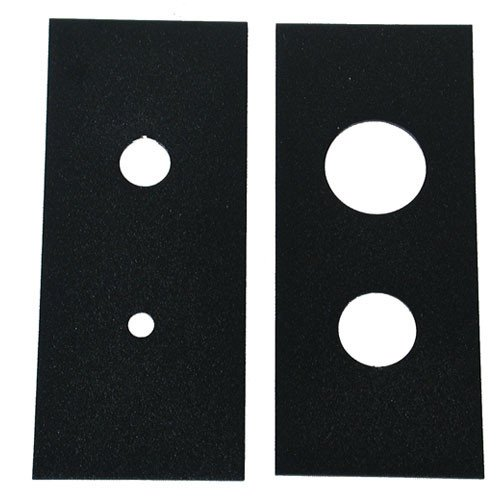 Beam Reducing Templates, Black (Pair)