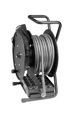 Super Large Capacity Cable Reel, Split-Reel Design with Divider and Tray
