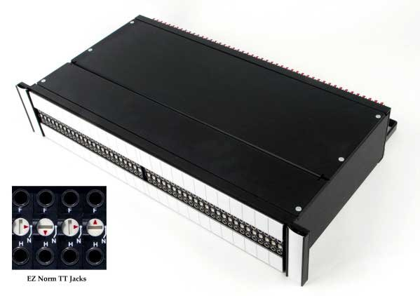 EZ Norm Programmable Patchbay, 1RU, 3-Pin I/O