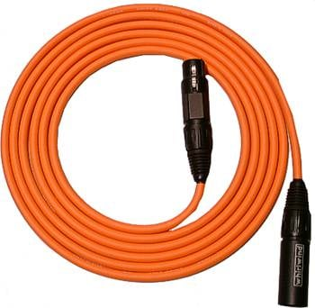 Whirlwind MKQ15-COLOR Quad Low-Z Mic Cable, 15ft MKQ15-COLOR