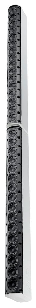 "32x 2"" 2600W White Line Array Column Speaker in White"