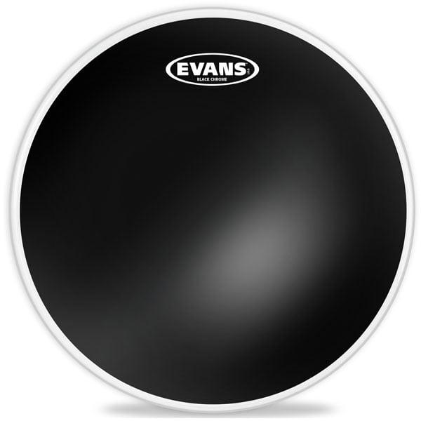 "14"" Black Chrome Batter Drum Head"