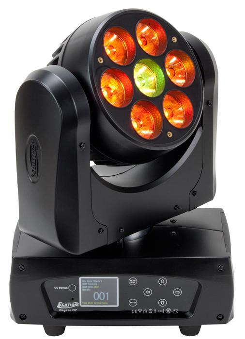 7x 15W Moving Head LED Fixture