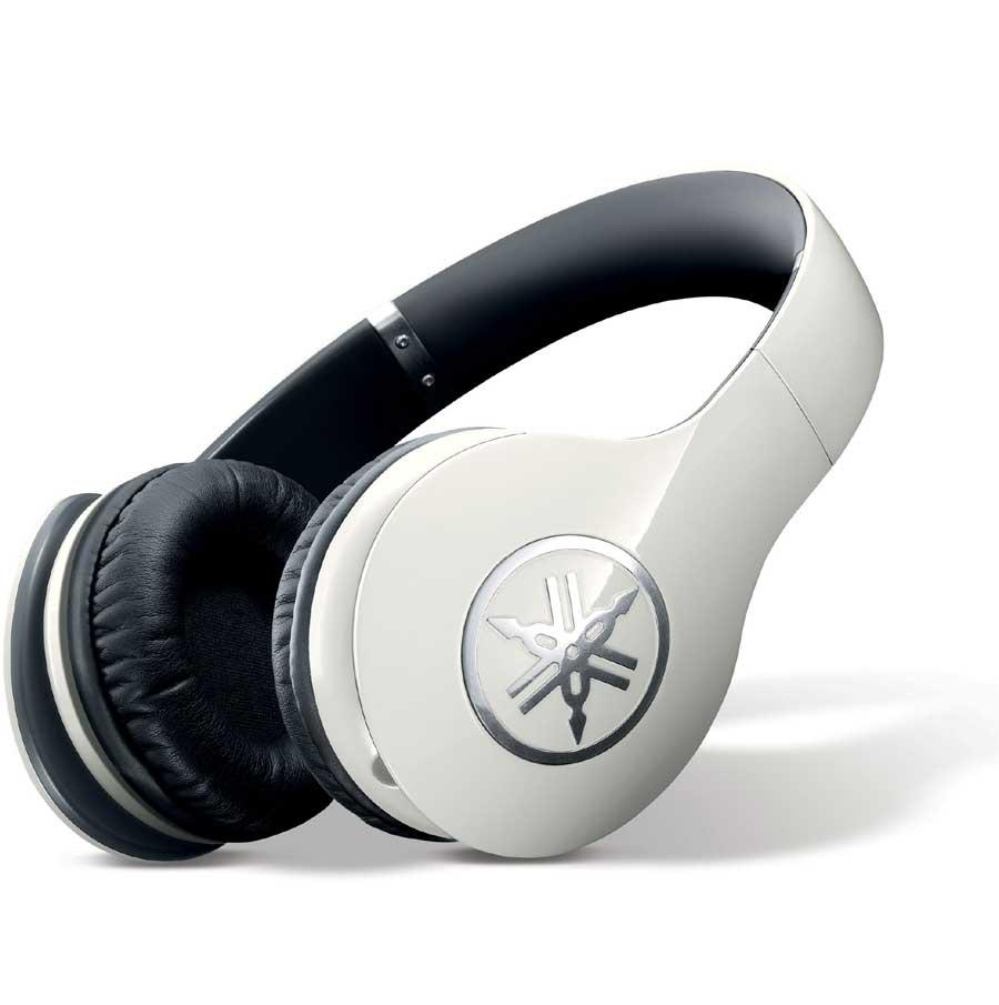 High-Fidelity Over-Ear Headphones, White