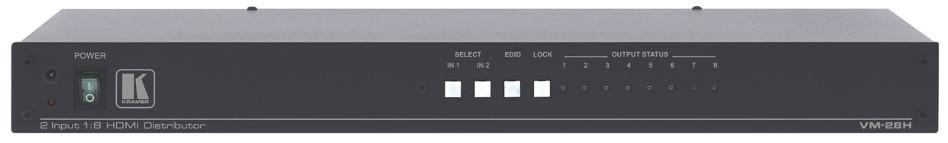 2x1:8 HDMI Distribution Amplifier