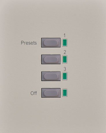 3-Button Wall Panel with Off Button