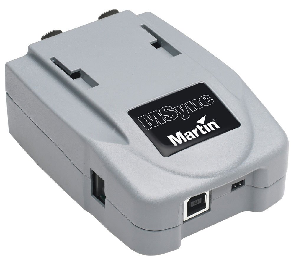 Martin Professional M-SYNC USB SMPTE Device for Timecode Input to M-Series Consoles M-SYNC