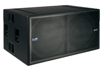 "18"" Active Double Subwoofer"