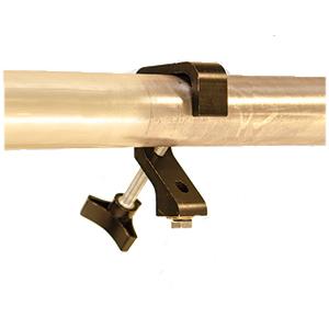 24 Pipe Dream Clamps, Silver (Black shown)