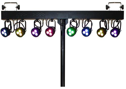 Tri-Color LED Lighting System