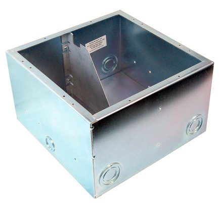 AC Isolated Full Back Box, with Isolation Bracket