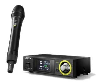 Handheld Wireless System for Vocals & Speech, 2.4 gHz frequency band