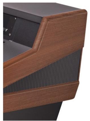 Argosy Consoles 90-NC24-RR-B-M  Mahogany Mixer Desk, for Digidesign C/24 90-NC24-RR-B-M