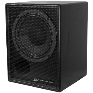 "8"" GT Series 2-Way Coaxial Loudspeaker with 2x2 3/8""-16 Threaded Mounting Points"