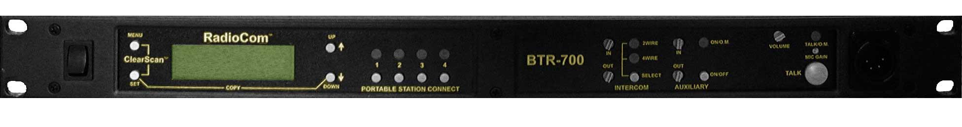 UHF Radiocom Base, 4pin Female