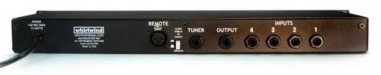4x1 Pro Instrument Switcher with Tuner Output