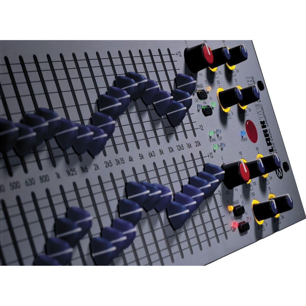 Dual Channel 1/3 Octave Graphic Equalizer