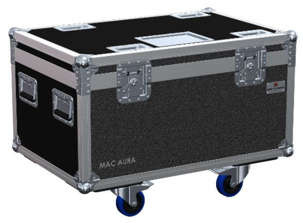 Martin Professional 91515020 6-Unit Flightcase for MAC Aura MAC-AURA-FLIGHTCASE