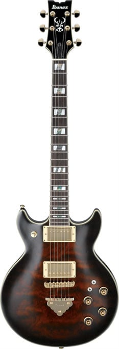 Artists Series Electric Guitar, Dark Brown Sunburst