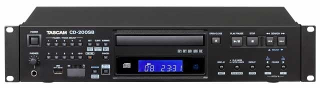 Rackmount CD Player with SD and USB
