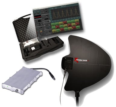 nvisible Waves X PC-Based RF Spectrum Analyzer (9KHz - 3.5GHz) Pro Bundle
