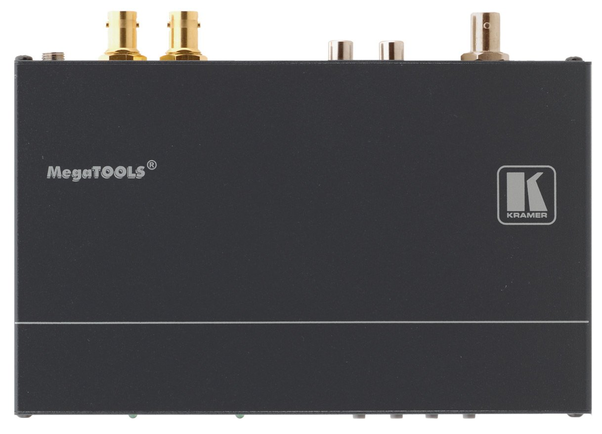 Composite Video & Stereo Audio to 3G HD-SDI ProScale™ Digital Scaler