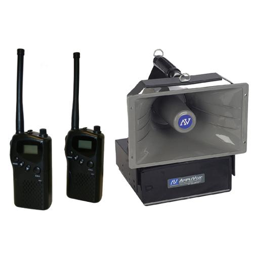 Radio Hailer Wireless PA Speaker with 2 MURS Radios