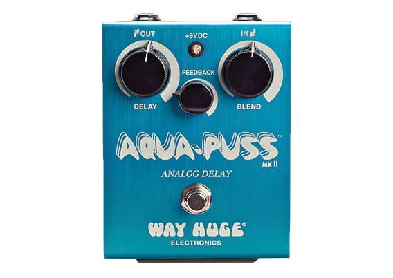 Way Huge ECHO-PUSS  Analog Delay Pedal  ECHO-PUSS