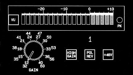 1-Channel Microphone Preamplifier