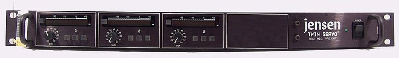 3-Channel Microphone Preamplifier
