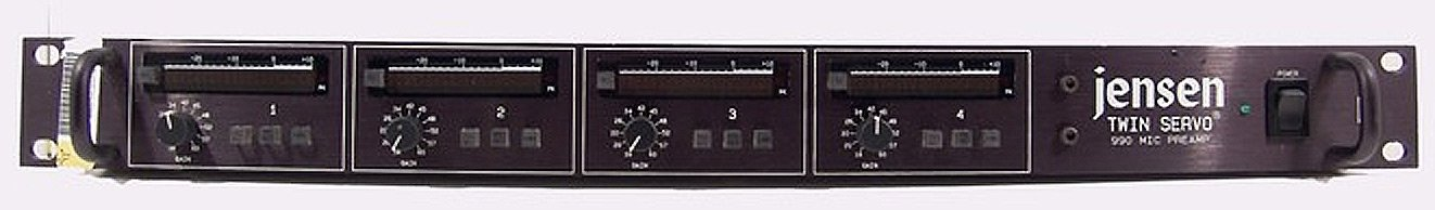4-Channel Microphone Preamplifier