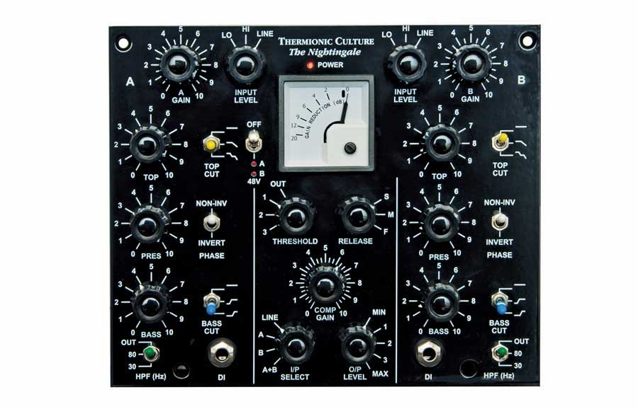 Dual Microphone Preamp with EQ & Compressor