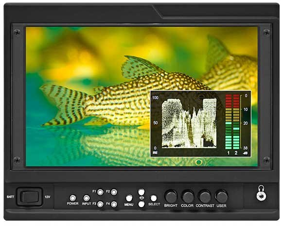 "Marshall Electronics V-LCD90MD-3G  9"" Camera Monitor with 3G Input Module with Loop-through V-LCD90MD-3G"