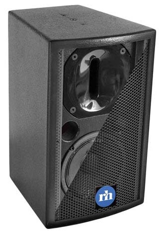 "120W Powered 2-Way Complex Conic 6.5"" Loudspeaker"