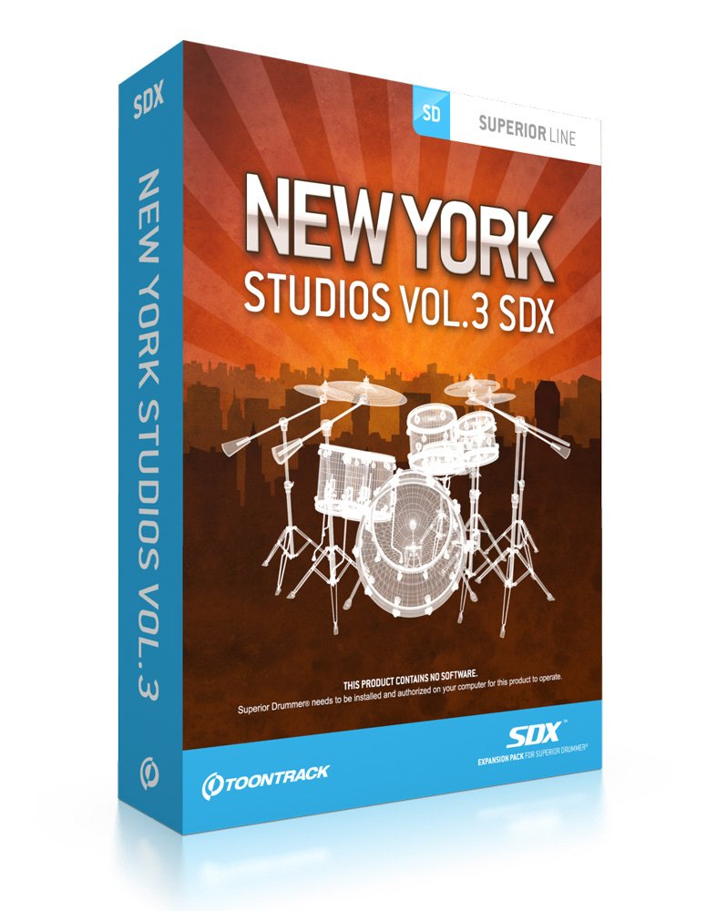 New York Studios Vol.3 SDX Expansion Pack, Boxed Version