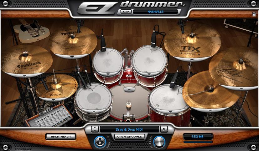 Toontrack Nashville EZX Nashville Expansion for EZdrummer/Superior Drummer (Electronic Delivery) NASHVILLE