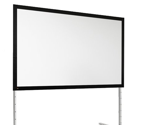 "150"" NTSC FocalPoint® Portable Projection Screen, Matte White"