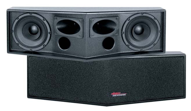 "Apogee Sound (Bogen) AE-2s2 Wide Angle Dual 8"" Horizontal Dispersion Loudspeaker 100-2110"