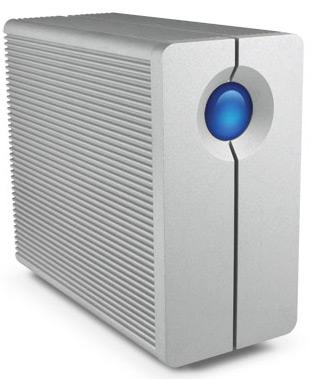 6TB Desktop Hard Drive 2-Bay RAID | USB 3.0 | FireWire 800