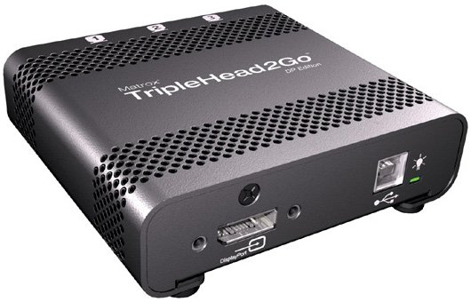 TripleHead2Go - DisplayPort Edition with mini DP to DP Cable