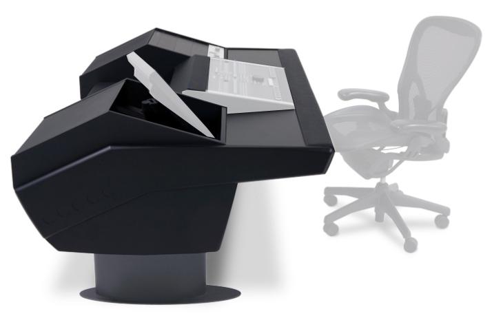 Mixer Desk for SSL Nucleus, Black Legs